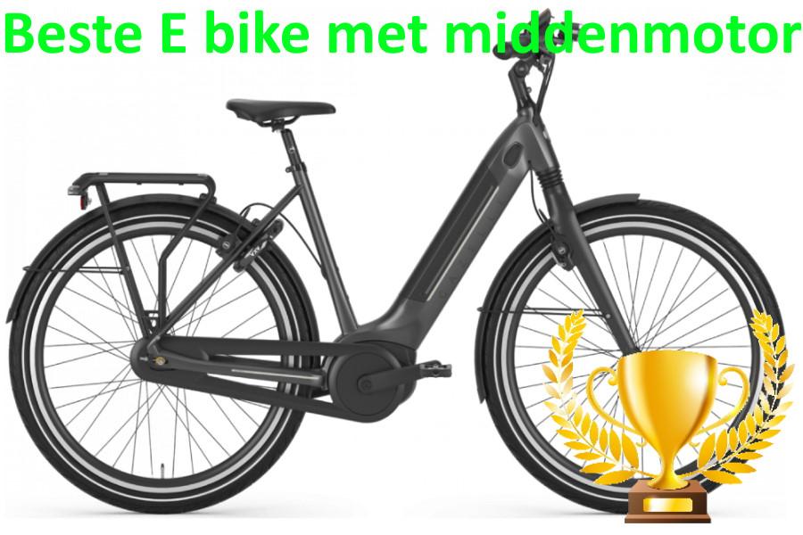 beste elektrische fiets met middenmotor